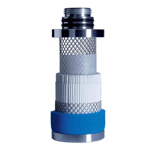 Nano fiber filter element